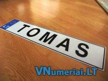 TOMAS - Valstybinis numeris